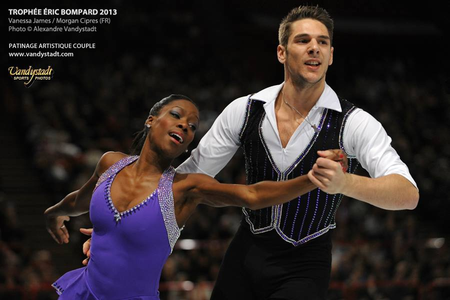 Vanessa JAMES et Morgan CIPRES CHAMPIONS de FRANCE ELITE