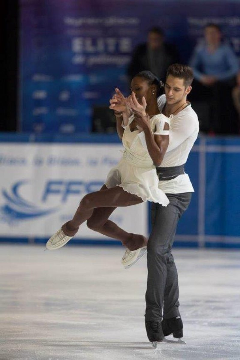 Morgan Cipres et Vanessa James Champions de France Elite