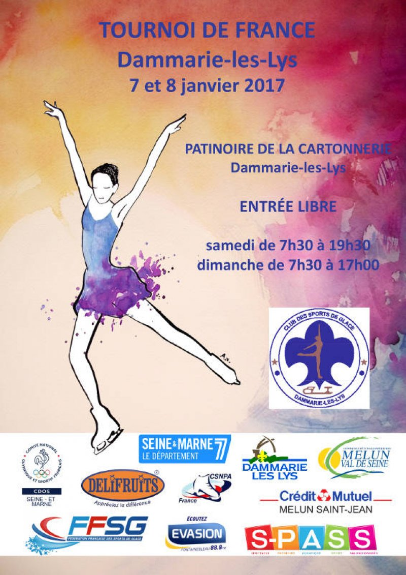 Tournoi de France Dammarie 2017