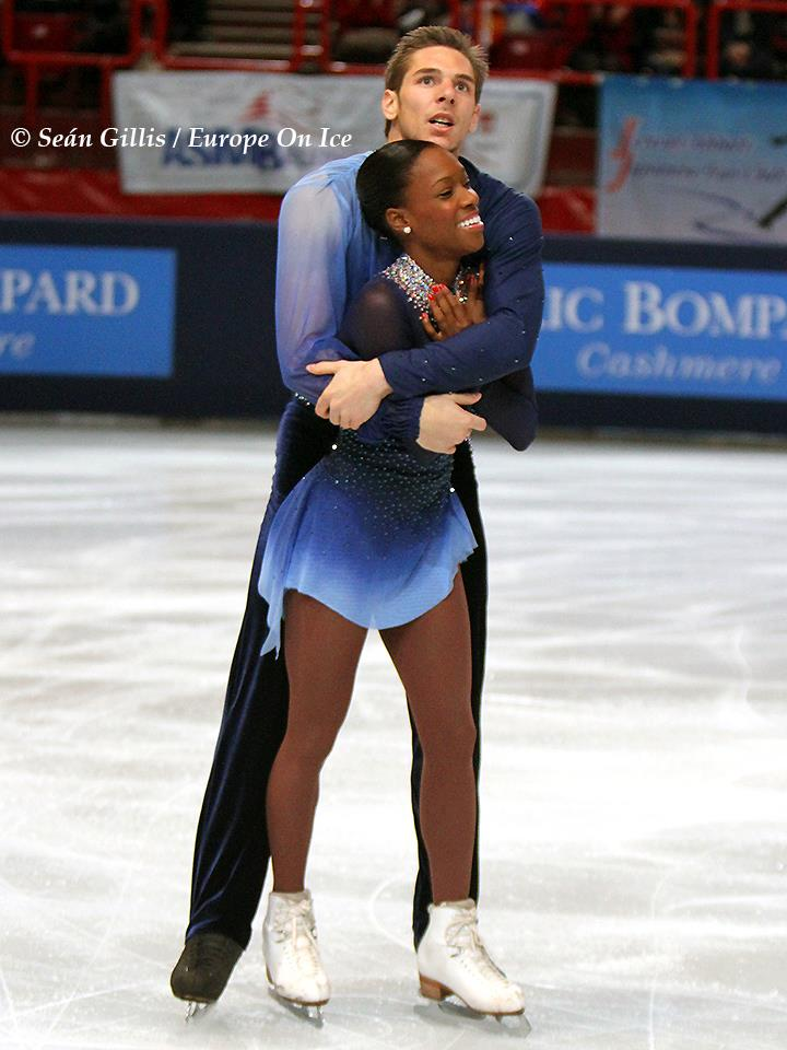 "Morgan Ciprès et Vanessa James au BOMPARD 2012 par la photographe ""Gillis"""