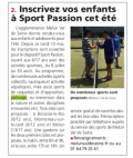 Vie locale - Le patinage sport passion
