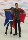 Vanessa James et Morgan Cipres remportent Grand Prix de France
